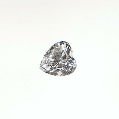 1.00 Ct Heart Shape D Color My Russian Diamond Simulated Lab Created Loose Stone