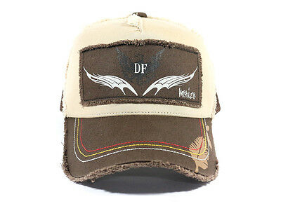 Sunline Cap SHC-1011 Defier Damage Cap Japan Free Size Brown (1056)