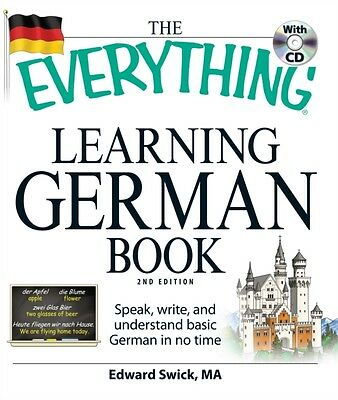 "The ""Everything"" Learning German Book (Paperback), Swick, Edward, 9781598699890"