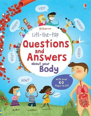 Lift the Flap Questions & Answers about your Body (Usborne Lift-the-Flap-Books).