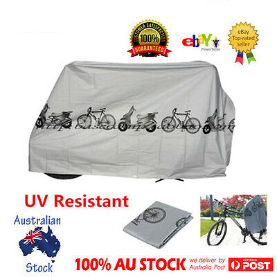 Waterproof Rain Dust Cover Outdoor Protector f Bike Bicycle Cycling UV Resistant