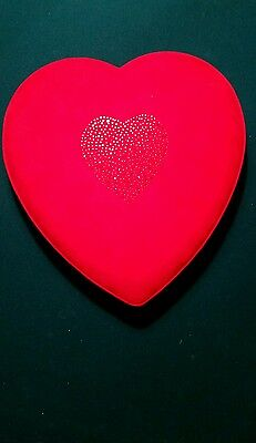 Godiva Chocolatier Heart Shaped Valentine Box W/ Swarovski Crystals