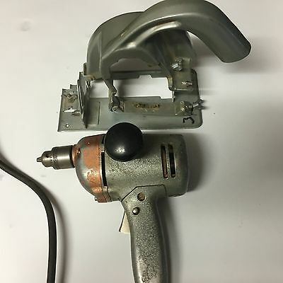 Black & Decker 1960's Vintage Drill and Saw Set
