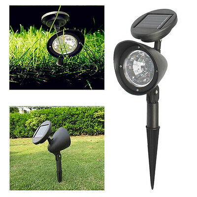 2x Solar Waterproof Outdoor Garden Wall Lighting,Path Ground Lights