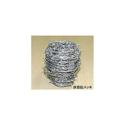 65-FEET-ROLL-NEW-BARB-wire-GAUGE-4-POINT-ARTS-CRAFTS-JEWELRY barricade japan F/S