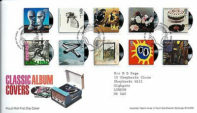 """2010 Classic Album Covers """"with  Bureau"""" Hand Stamp See Scan"""