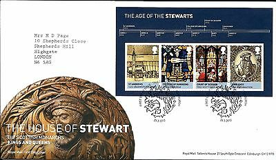 """2010 House Of Stewart M-Sheet """"with  Bureau"""" Hand Stamp See Scan"""