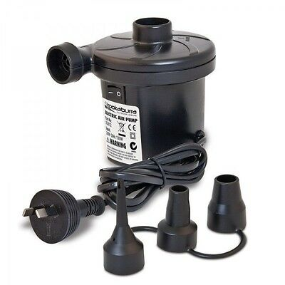 240v Air Pump for Pool Toys and Camping Beds. FREE shipping from Sydney