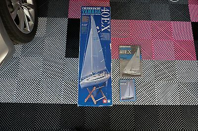 BOX and INSTRUCTIONS ONLY -Tamiya RC cruiser yacht boat Yamaha 40EX 1/20th scale