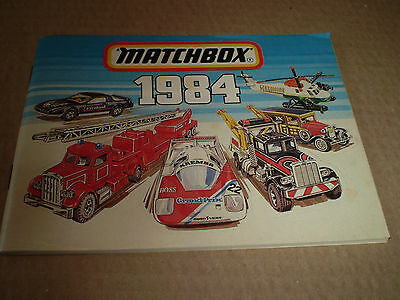 Matchbox Toy Catalogue 1984 International Edition Excellent Condition For Age