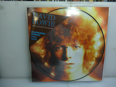 David Bowie-God Knows I'm Good. Rarities-Ltd To 100 Picture Vinyl Lp-New.sealed
