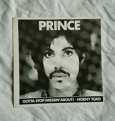 "Prince - Gotta Stop (messin about) - FRENCH RED VINYL 7"" - SDC43"