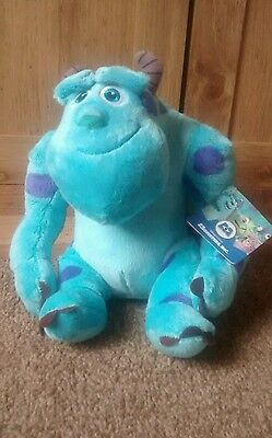 """monsters inc sulley 10 """" soft toys"""