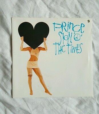 "Prince - Sign 'O' The Times - FRENCH 7"" - 928-399-7"