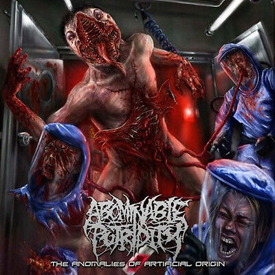 ABOMINABLE PUTRIDITY - The Anomalies Of ... LP (Pathol.Expl, 2015)  *black vinyl