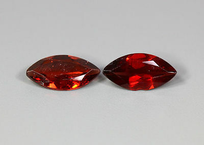 3.69 Cts_Wow Top Class Matching Marquise Pair_100 % Natural Rhodolite Red Garnet