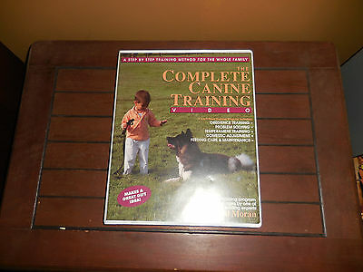 The Complete Canine (dog) Training videos by Paul Moran