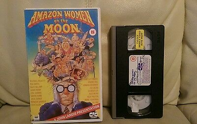Amazon Women On The Moon - Extremely Rare VHS Big Box Ex Rental.