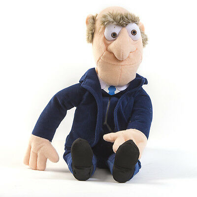 """New Official 10"""" The Muppets Soft Toy Statler"""