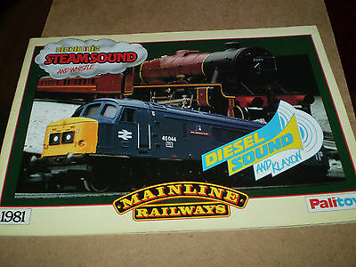 Mainline Model Railways Toy Catalogue 1981 Uk Edition Excellent For Age