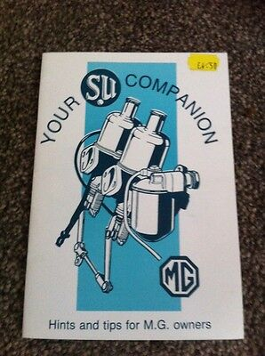 Companion Hints And Tips For MG Owners 1994