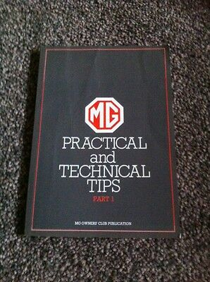 MG Owners Club Practical And Technical Tips Part 1 1987