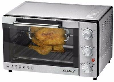 Grill Bake Oven Rotisserie Setting Nonstick Tray Switchable Convection Function