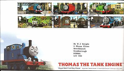 2011 Thomas The Tank Engine With Bureau Hand Stamp See  Scan