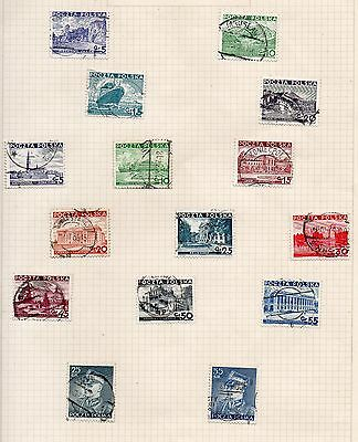 POLAND Stamp Collection circa 1930s Used REF:QD631