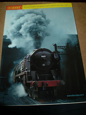 HORNBY MODEL RAILWAYS TOY CATALOGUE 2002 48th EDITION MINT FOR AGE
