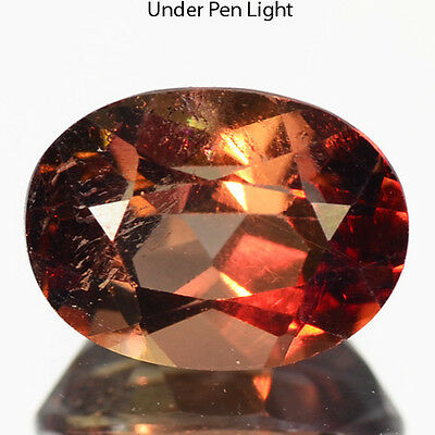 1.30 Cts Sparkilng Rare Quality Natural Brown Axinite Loose Gemstones