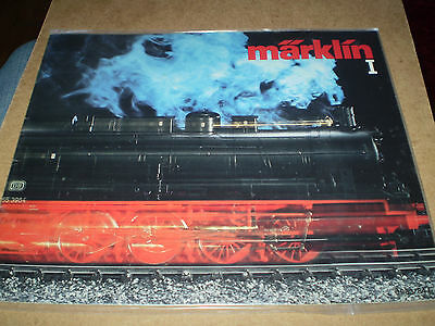 Marklin Model Railways Toy Catalogue Undated Edition Excellent For Age
