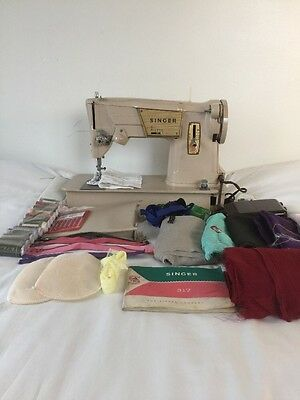 Vintage SINGER 317 Electric Heavy Duty Sewing Machine SEWS LEATHER AND DENIM