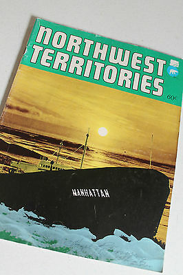 Vtg Paper Ephemera Booklet Northwest Territories 47 pages Color and Photos