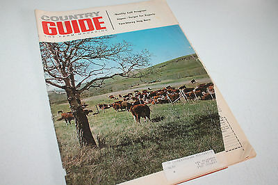 Vintage Book Magazine Country Guide April 1971