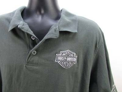 Harley Davidson XL SS House of Harley Milwaukee Shirt Embroidered Fast Shipping!