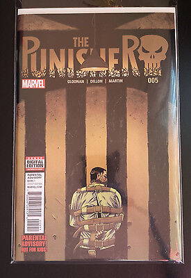 The Punisher # 005 Marvel Comics. Bagged/boarded