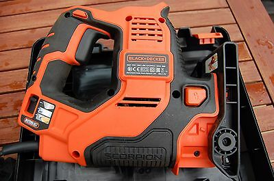 Black + Decker RS890K-GB Scorpion-Powered Hand Saw with Kitbox and Auto-Select,