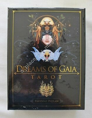 NEW Dreams of Gaia Tarot Deck Cards Ravynne Phelan DISCOUNTED FOR DENTED BOX