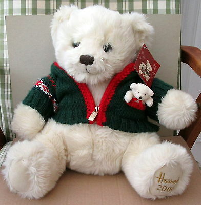 Harrods Christmas Plush Teddy C2006 With Tags