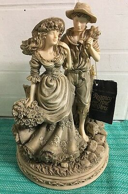 Lovely Rare Regency Fine Art Figurine - The Naples Collection