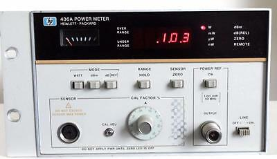 HP 436A Power Meter for RF & Microwave Power Measurements