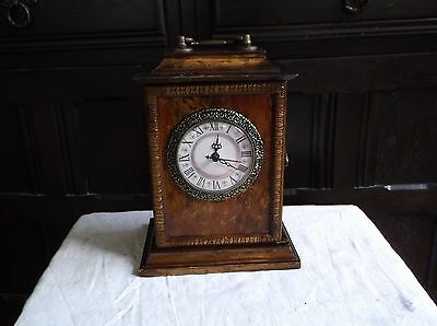 Beautiful Little Mantle Clock Battery Operated