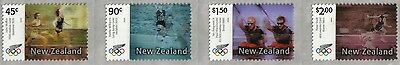 New Zealand - 2004 - Olympic Games - Set of 4 different sel-adhesive stamps MNH