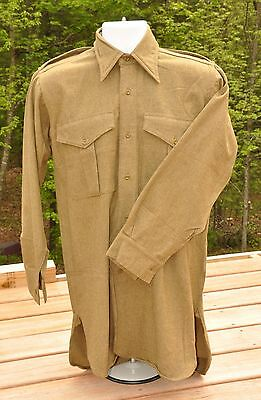 British Army Officer Wool Shirt
