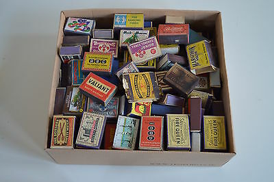 Selection of approximately 200 vintage Match Boxes