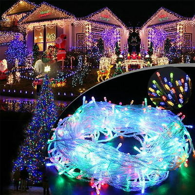 1x 300 LED 30M RGB Fairy Lights String for Xmas Party Wedding Christmas Lights