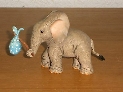 Tuskers  Elephants  Ornament  Titled  Escapade  -  Perfect Condition