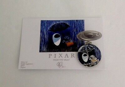 Disney Pixar Party Pin Event From The Vault Collection: Wall-E & Eve ~ Le 750