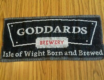 Goddards Brewery Isle of Wight born and brewed mancave home bar pub  mat towel